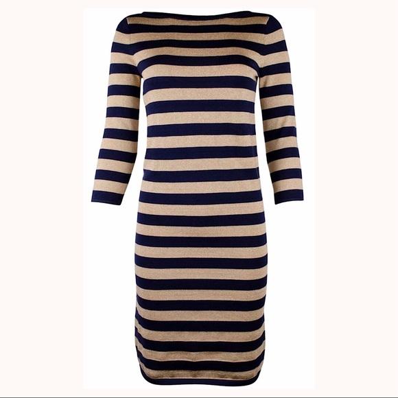 4c27dd23a51e0 LAUREN RALPH LAUREN Jayde Striped Sweater Dress